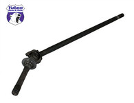 "Yukon left hand axle assembly for '05-'15 Ford ""Super 60"" F250/F350 front, w/stub axle seal"