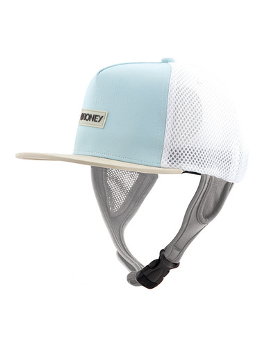 Ladies Kuta Mesh Trucker Hat - Aqua