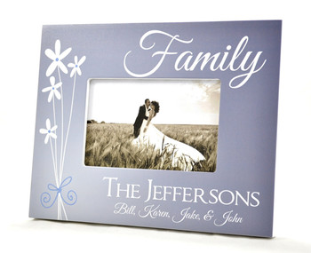 family name picture frame image 1 - Name Picture Frames