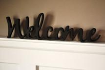 Welcome Word Art