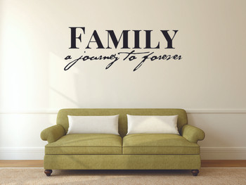 Family A Journey To Forever Wall Decal
