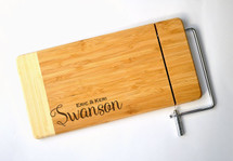 Bamboo Cheese Slicer Style 6