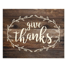 Give thanks 12x15