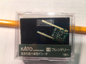 KATO 29-351 N EM13 DECODER FOR THE GS4 LOCOMOTIVES BLACK AND THE DAYLIGHT
