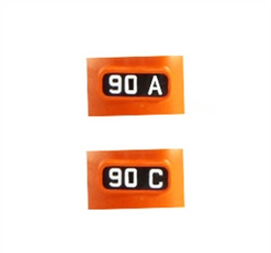 """KATO 11 650 N ALTERNATE NUMBER BOARDS FOR """"MILWAUKEE ROAD"""" #90A & 90C"""