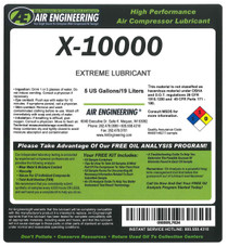 X-10000-1 - COMPRESSOR LUBRICANT,HIGH TEMP CONDITION
