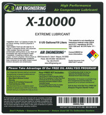 00051-055 - Compressor Lubricant - AFX-32 - 55 GAL