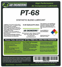 PT-68-55 - Compressor Lubricant - 55 GAL