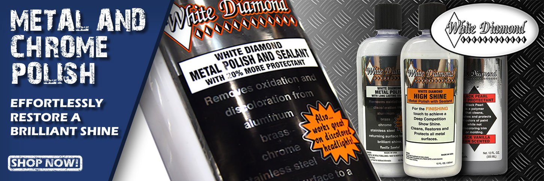 White Diamond Metal Polish, High Shine now in stock
