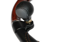Real leather truck steering knob (third hand)