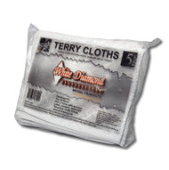 White Diamond 100% Cotton Terry Towels PACK OF 5