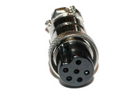 Microphone Plug. 6 Pin for use with CB and Ham Radio