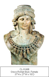 Bust of Greco-roman Goddess - Final Sale