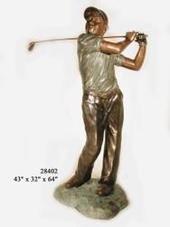 Golfer - Full Swing - Winter Sale