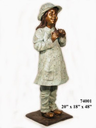 Young Girl with Camera - Winter Sale