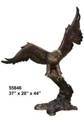 """Stalking Eagle - 44"""" Design"""