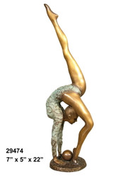 Female Dancer - Style E - with Marble Base (not shown)