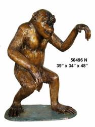Walking Monkey - Special Patina, Style NA