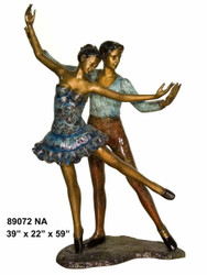 Dancing Couple - Special Patina, Style NA
