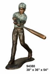 Varsity Baseball Batter, Design A
