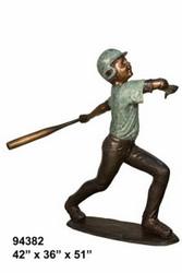 Varsity Baseball Batter, Design B
