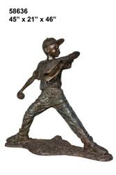 Littler League Pitcher - Retro Design
