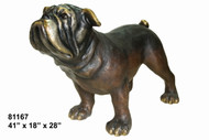 Monumental Bulldog (on all fours) - Design C