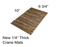 """New 1/4"""" thick crane mats - 1:50th Scale"""