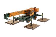 Laser Cut Wooden Crane Mats - 4 qty