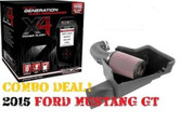 JLT & SCT 2015 2016 FORD MUSTANG GT JLT COLD AIR INTAKE AND SCT TUNER FREE SHIP SCT X4 7015 (CAI-FMG-15)