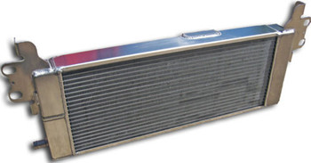 SUPERCHARGED 2007-14 FORD GT500 DUAL CORE DUAL PASS HEAT EXCHANGER INTERCOOLER (LF1345)
