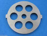 "Meat Grinder plate disc die for electric Waring Pro & Oster w/ 1/2"" Coarse Grind"