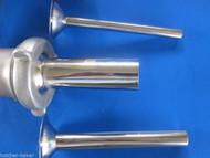 (3) Sausage Stuffer Tubes for Waring Pro, Deni & Rival meat grinder Stainless