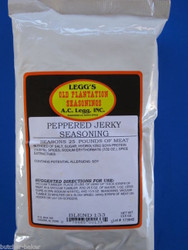 PEPPERED Jerky Seasoning Spices for 25 LBS of meat Venison Elk Beef Deer Moose