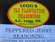 PEPPERED Jerky Seasoning Spices for 100 LBS of meat Venison Elk Beef Deer Moose