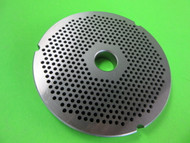 "#42 x 1/8""  stainless steel meat grinder plate"
