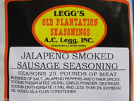 JALAPENO SMOKED LINKS Sausage Seasoning 25 lb w/Cure