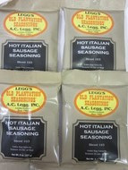 HOT ITALIAN Sausage Seasoning for 100 Lbs of Links or Ground   *Favorite Recipe*
