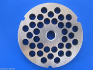 "#32 x 3/8"" (10mm) STAINLESS Meat Grinder Plate Disc for Hobart 4332 4532 LEM etc"