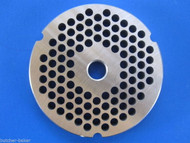"#32 1/4"" (6mm) STAINLESS Meat Grinder Plate for Hobart 4332 4532 TorRey more"