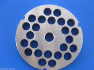 "#32 1/2"" (12mm) STAINLESS Meat Grinder Plate for Hobart 4332 4532 LEM  more"