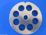 "#22 x 5/8"" holes STAINLESS Meat Food Grinder Plate Disc Hobart TorRey LEM etc"