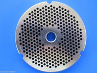 """#32 1/8"""" 3mm STAINLESS Meat Grinder Plate Disc for Hobart 4332 4532 TorRey more"""