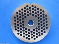 "#22 x 3/16"" holes STAINLESS Meat Food Grinder Plate Disc Hobart TorRey LEM etc"