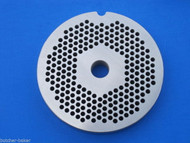 "#22 x 1/8"" holes STAINLESS Meat Food Grinder Plate Disc Hobart TorRey LEM etc"