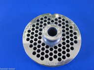 "#12 x 3/16"" w/ HUB STAINLESS Meat Grinder Mincer plate disc screen"