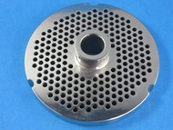 "#52 x 3/16"" stainless steel meat grinder plate"