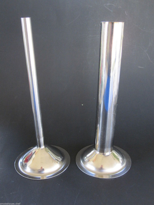 "Two size #32 tubes.  1/2"" and 1 1/4"".  7"" long.  Stainless Steel"