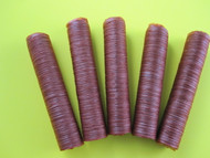 5-Pack 17mm collagen casings for snack sticks.