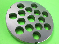 "42 x 3/4"" (20mm) holes Meat Grinder Plate Screen Cabelas Carnivore 1 3/4 HP"